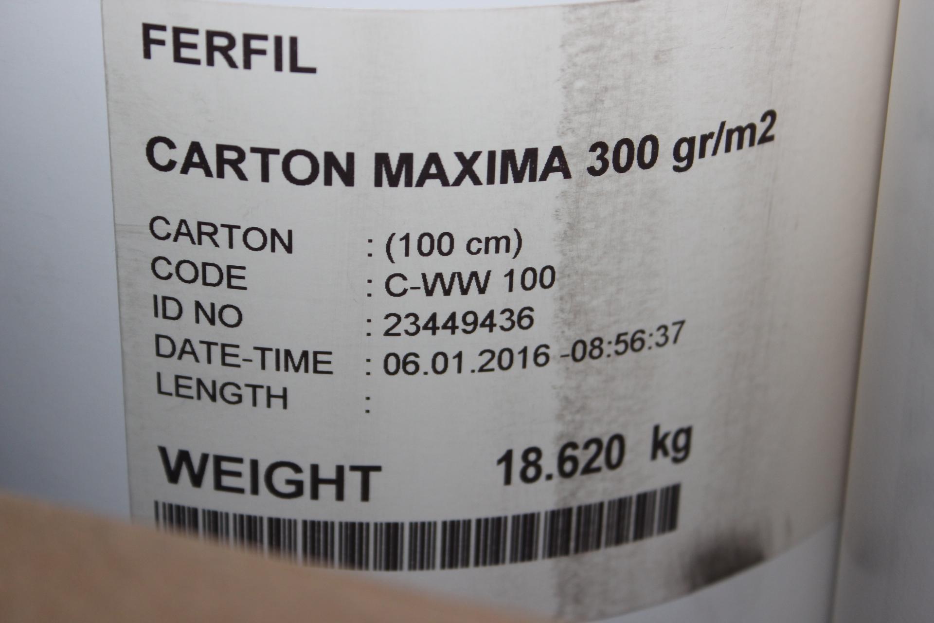CARTOLINA BRANCA PARA MOLDES 300Grs 100Cms